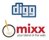 Digg and Mixx