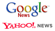 Google News and Yahoo! News