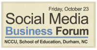 Social Media Business Forum
