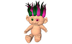 Torley Troll Doll pet (wear)
