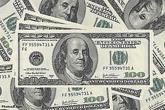 Hundreds of Dollars Money Bills by Photos8.com