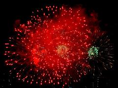 New Year 2010 Fireworks, Singapore