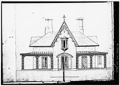 Reuel Smith House from HABS