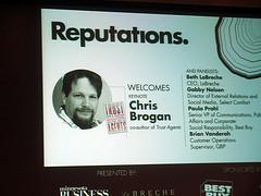 Chris Brogan - Reputations Event