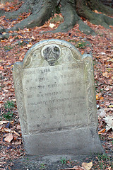 Grave in Granary Burial Ground