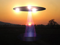 Extraterrestrial on visit