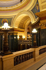 Wisconsin State Capitol, Madison, Interior View  2011-04-18_025