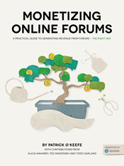 Monetizing Online Forums