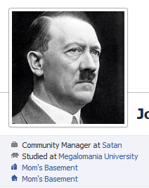 Facebook Community Manager Profile