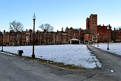Boston Common, Colonial Architecture