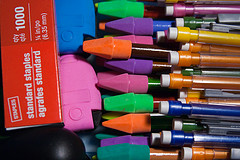 School Supplies Pencils Erasers August 07, 20101