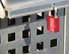 Locking Up the Rubbish