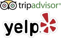 TripAdvisor and Yelp